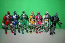 Bandai Power Rangers SPD Action Figures with Sounds Bundle Job Lot