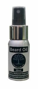 Beard Oil  - made from 6 organic oils for a soft, natural  healthy beard -30ml