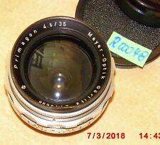 M42 OBJEKTIV; PRIMAGON 1:4.5; 35mm; MEYER GÖRLITZ (R00048)