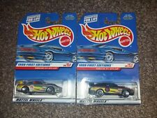 Hot Wheels Porsche 911 GT3 Cup Two Different Variations Mattel Collector 1998