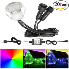 20X 30mm Low Voltage LED Deck Walkway Lights Step Waterproof Outdoor Stair Lamp