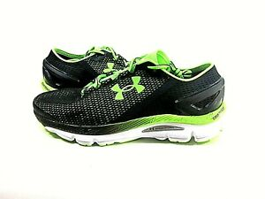 Under Armour Men's UA Speedform Gemini 2.1 Green Shoes,US Size 8,New