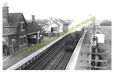 Old North Road Railway Station Photo. Gamlingay - Lord's Bridge. (5)