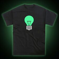 Light Bulb Lightbulb Glow in the Dark T-Shirt