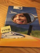BMW motorrad gamme 2000 / 2001 moto prospectus brochure  prospekt catalogue pub