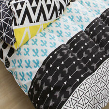 Brand New King Quilt Cover Set - Cute Reversible 2 in 1 Designs