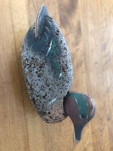 L L Bean cork decoy green winged teal