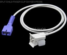 1pc DB7 7pin Kid Finger clip SpO2 Sensor Probe For PM7000 8000 9000 MEC1000 2000