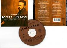 "JAMES INGRAM ""The Power Of Great Music - The Best Of"" (CD) 1991"
