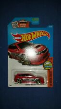 2016 Hot Wheels HW Digital Circuit 10/10 Subaru WRX STI Red Collector #30/250