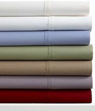 TWIN SHEET SET 300 THREAD COUNT FINE LINENS ~ IVORY