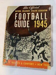 1945 Official NCAA Football Guide