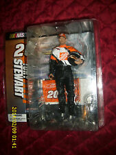 MCFARLANE NASCAR 3 TONY STEWART #20 THE HOME DEPOT FIGURE  NO GLASSES VARIANT