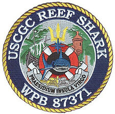 Uscgc Reef Shark San Juan Pr W5027 Coast Guard patch