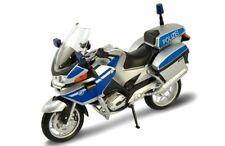 12 Stück BMW Polizei Motorrad R1200 RT Modell 1:18 Sonder-Edition NEU+OVP Welly