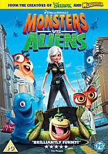 Monsters vs Aliens (1-Disc) [DVD] [2009], Good DVD, Reese Witherspoon, Rainn Wil