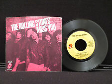 The Rolling Stones Miss You 45RPM - RS19307