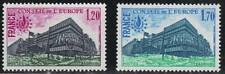 "FRANCE STAMP TIMBRE SERVICE N° 58/59 "" BATIMENT CONSEIL STRASBOURG "" NEUFSxx TTB"