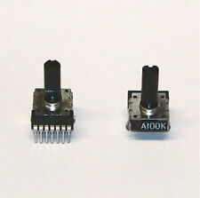 2 pcs ALPS potentiometer 100K DUAL audio taper PC mount stereo PCB trimmer NEW