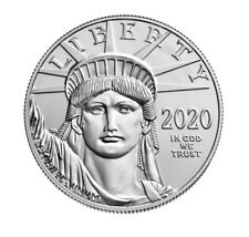 2020 1 oz Platinum American Eagle $100 Coin BU