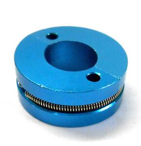 12 / 18 Nitro Engine 2 Shoe Alloy Clutch w Spring Light Blue