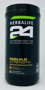 HERBALIFE 24 REBUILD STRENGTH 20 SERVINGS - CHOCOLATE - STRAWBERRY - VANILLA