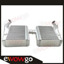 SIDE  MOUNT BOLT ON Aluminum Intercooler FOR NISSAN 90-96 TWIN TURBO 300ZX Z32