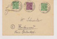 Gemeinsch.Ausg. Mi. 921,915, Berlin, SST Flüchtlings-u.Altershilfe, 8.-15.12.46