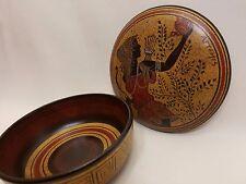 Artemis Greek Goddess Rare Hellenic Ancient Art Pottery Jewelry Case Aged