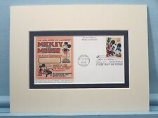 Walt Disney - Mickey Mouse, Donald Duck & Goofy and their First Day Cover
