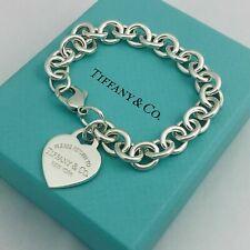 Tiffany & Co Bracciale Ciondolo Cuore PARI A NUOVO ! ORIGINALE