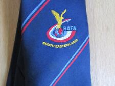 RAFA Royal Air Force Association South EASTERN Area Tie by Maddocks Dick