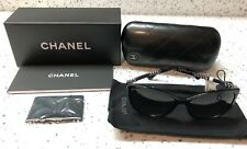 5db2f76b10e9 NEW With Tags CHANEL 5352 c.501 S8 Polarized Sunglasses 59 16