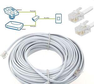 High Quality ADSL Broadband Phone Internet Router US Modem Cable 1m 2m 3m 5m 10m