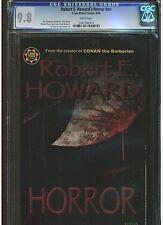 ROBERT E. HOWARD'S HORRORS #NN CGC 9.8 CREATOR CONAN BARBARIAN CROSS PLAINS WP.