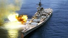 USS IOWA 8X10 PHOTO BB-61 NAVY US USA MILITARY BATTLESHIP SHIP