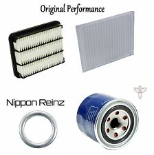 Tune Up Kit Cabin Air Oil Filters Gasket for Mitsubishi Galant V6; 3.0L 99-03