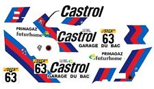 #63 Garage Du Bac Bmw M3 1987 1/43rd Scale Slot Car Decals