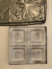 Vintage Antique Metal Tin Ceiling Tile 12 X 12