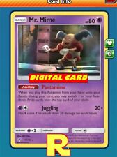 Mr. Mime (Detective Pikachu FOIL) - for Pokemon TCG Online (ptcgo in Game Card)