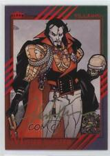2015 Fleer Marvel Retro #39 Stuart Immonen (Mister Sinister) Auto Card 4p5
