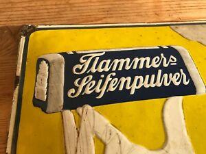 Original Flammers Seife Schild