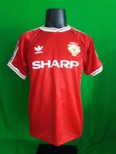 Manchester United League Cup final 1991 home red shirt jersey retro adidas rare