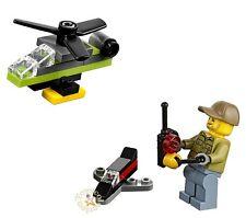 LEGO CITY - AVENTURERO VOLCANÓLOGO CONTROL REMOTO Y DRONES 60133 ORIGINAL MINIFG