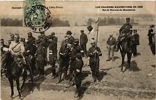 CPA MILITAIRE Les Grandes Manoeuvres (316646)
