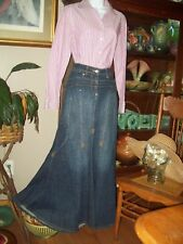 Pioneer Western Prairie Trek Costume size 6 Skirt, Blouse, Bonnet or Straw Hat