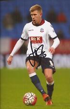 Bolton: Josh VELA firmata 6x4 FOTO D'AZIONE + COA