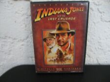 Indiana Jones the Last Crusade (Dvd) 2003 Widescreen Sean Connery Harrison Ford