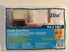 bâche plastique protection (travaux poussière, peinture) 4x5m = 20m2 Cover sheet