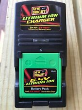 New Bright R/C car/truck 6.4v 500mAh ION Lithium Charger and Battery Combo